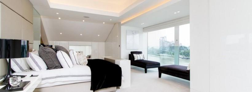 Потолки из гипсокартона для спальни (80 фото): мир комфорта и стиля