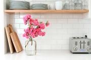 Фото 5 Ручки для кухонной мебели (57 фото): виды, правила выбора