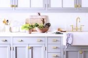 Фото 8 Ручки для кухонной мебели (57 фото): виды, правила выбора