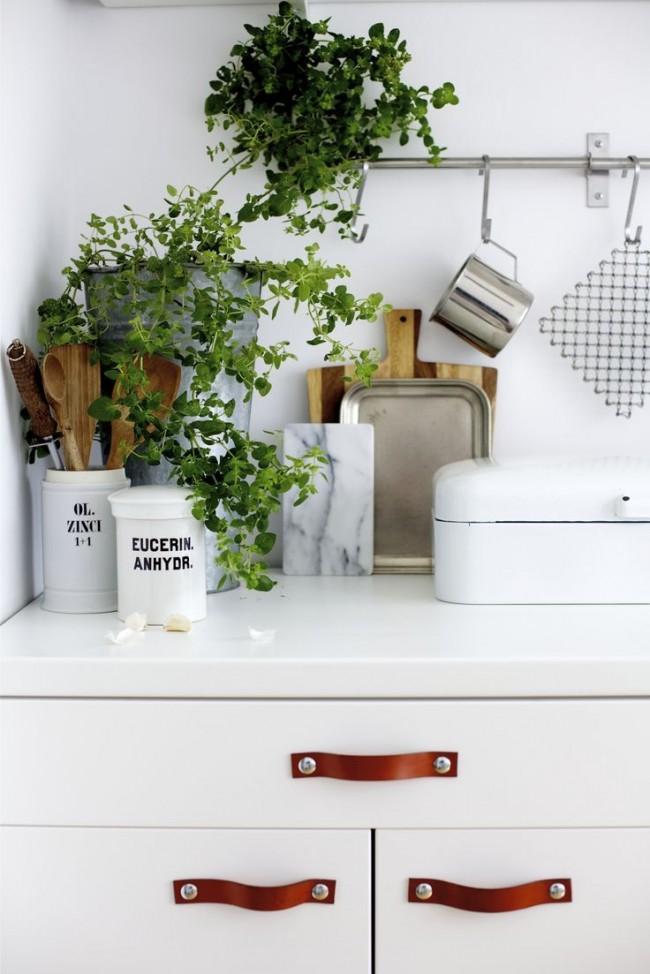 Ручки для кухонной мебели своими руками