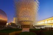 Фото 3 Гигантский алюминиевый улей на выставке в Милане