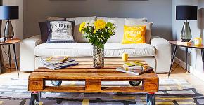 Журнальный столик своими руками: пошаговая инструкция и 50 вдохновляющих идей для дизайна фото