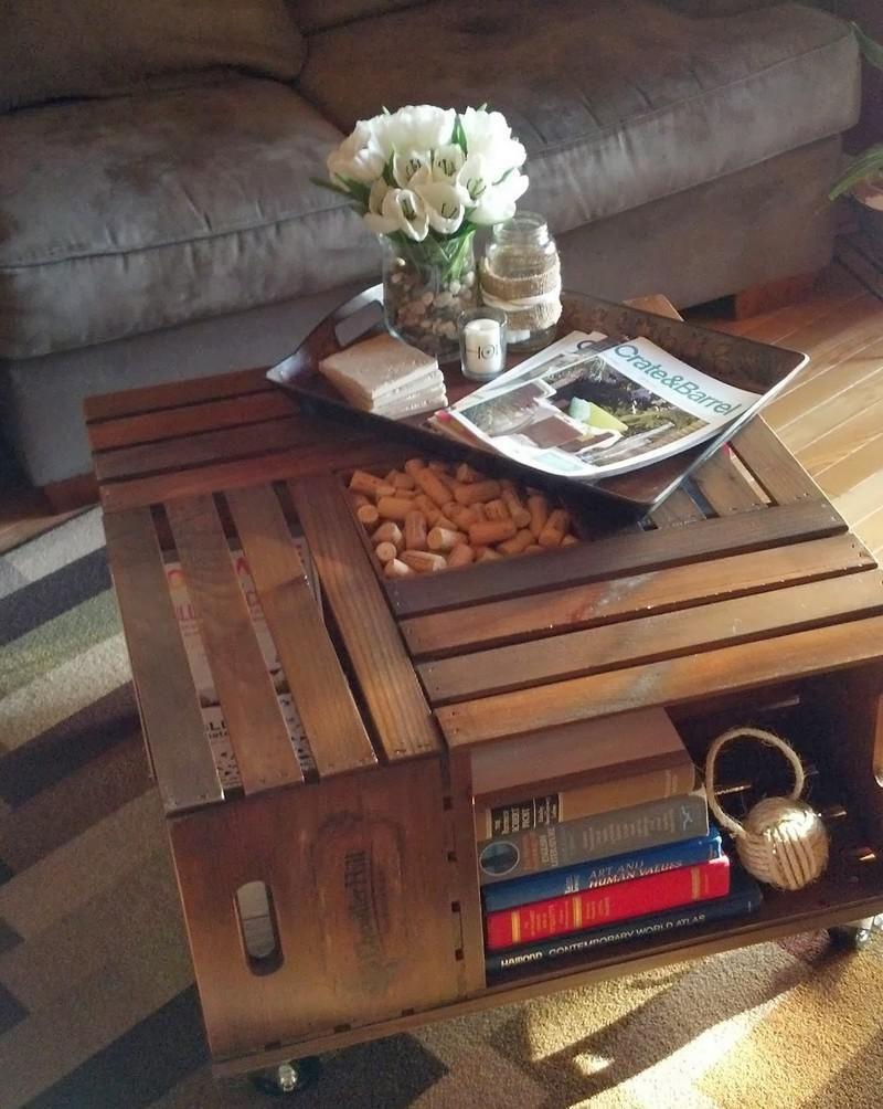 Журнальный столик своими руками из старого чемодана фото 60