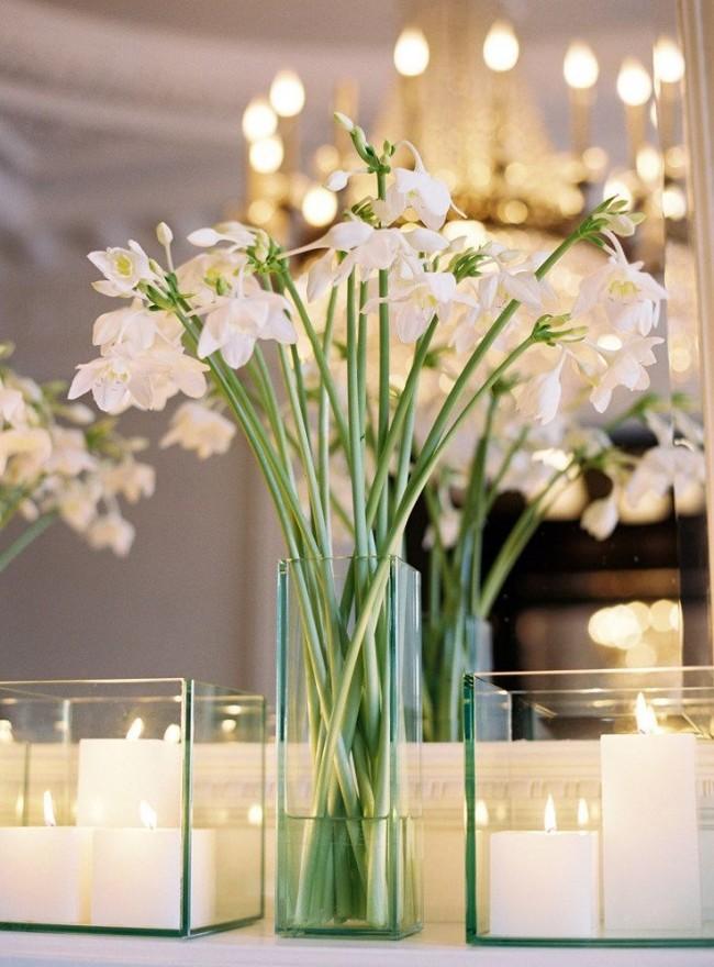 Сорта альстромерии белых цветов популярны в свадебном декоре
