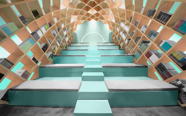 anagrama-conarte-library-interiors-monterrey-mexico-designboom-07