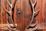 Фото 3 Дверные ручки для входных дверей (60 фото): виды изделий и правила выбора