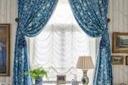 Фото 9 Французские шторы (60+ фото): королевская роскошь в каждой складке