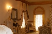 Фото 23 Французские шторы (45 фото): королевская роскошь в каждой складке
