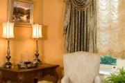 Фото 17 Французские шторы (60+ фото): королевская роскошь в каждой складке