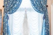 Фото 19 Французские шторы (45 фото): королевская роскошь в каждой складке