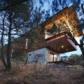 Стильный дом в диком лесу от Seung h-sang фото