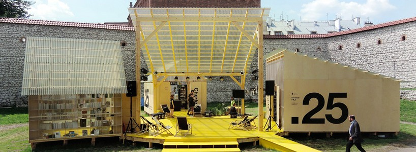 Budcud возрождает старую площадь в Кракове к 25-му фестивалю еврейской культуры