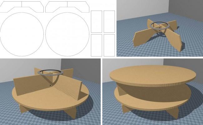 Мебель для кукол своими руками. Как сделать круглый кукольный столик из фанеры: пошаговое руководство