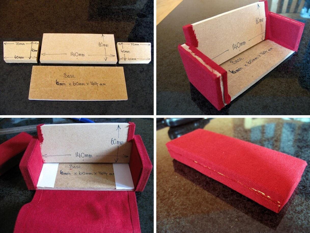 Как сделать диван для кукол из бумаги фото 789