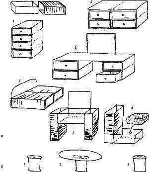 Мебель для кукол своими руками. Простые схемы способов собрать комодик, стол, кроватку из спичечных коробков