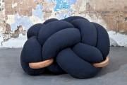 Фото 2 Удивительные сидения в виде узлов от Неты Теслер для «Knots studio»