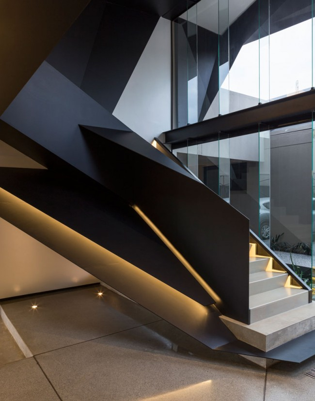 Скульптурная лестница