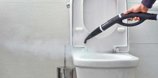 Дезинфекция труднодоступных мест - один из значительных плюсов пароочистителя