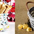 Плетение корзин из газетных трубочек: мастер-классы и советы для рукодельниц фото
