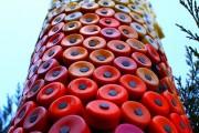 Фото 6 Поделки из пробок от пластиковых бутылок (48 фото): яркий и оригинальный декор