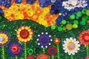 Фото 1 Поделки из пробок от пластиковых бутылок (48 фото): яркий и оригинальный декор