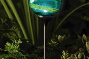 Фото 9 Садовый уличный светильник на солнечных батареях (50 фото): волшебство для вашего сада