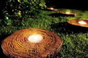 Фото 2 Садовый уличный светильник на солнечных батареях (50 фото): волшебство для вашего сада