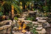 Фото 5 Садовый уличный светильник на солнечных батареях (50 фото): волшебство для вашего сада