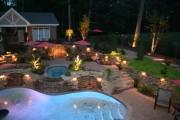 Фото 10 Садовый уличный светильник на солнечных батареях (50 фото): волшебство для вашего сада