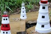 Фото 11 Садовый уличный светильник на солнечных батареях (50 фото): волшебство для вашего сада