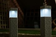 Фото 12 Садовый уличный светильник на солнечных батареях (50 фото): волшебство для вашего сада