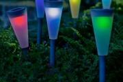 Фото 13 Садовый уличный светильник на солнечных батареях (50 фото): волшебство для вашего сада