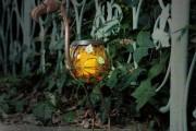 Фото 15 Садовый уличный светильник на солнечных батареях (50 фото): волшебство для вашего сада