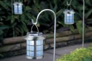 Фото 18 Садовый уличный светильник на солнечных батареях (50 фото): волшебство для вашего сада