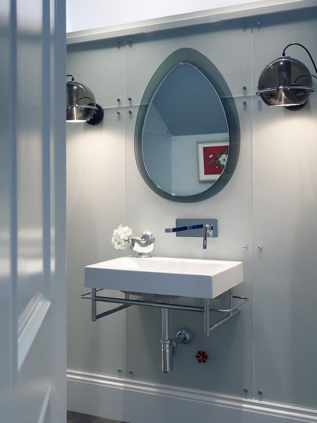 Влагозащищенные светильники для ванной комнаты. Самый привычный вариант светильников для ванной - с барьерной защитой от брызг, то есть с плафоном