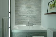 Фото 20 Влагозащищенные светильники для ванной комнаты: обзор стильных моделей, правила выбора и специфика монтажа
