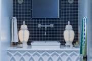 Фото 24 Влагозащищенные светильники для ванной комнаты: обзор стильных моделей, правила выбора и специфика монтажа