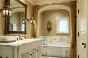 Фото 8 Влагозащищенные светильники для ванной комнаты: обзор стильных моделей, правила выбора и специфика монтажа