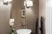 Фото 1 Влагозащищенные светильники для ванной комнаты: обзор стильных моделей, правила выбора и специфика монтажа