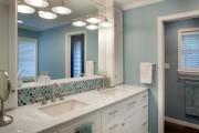 Фото 17 Влагозащищенные светильники для ванной комнаты: обзор стильных моделей, правила выбора и специфика монтажа