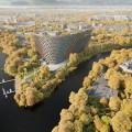 Грандиозный отель Radisson Blu Moscow Riverside с потрясающей панорамой фото