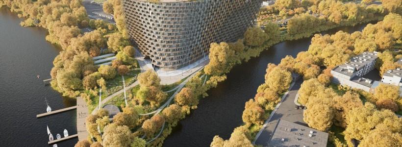 Грандиозный отель Radisson Blu Moscow Riverside с потрясающей панорамой