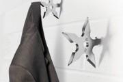 Фото 2 Настенная вешалка для одежды в прихожую: материалы, конструкции,  дизайн