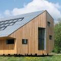 Нестандартный энергосберегающий дом в Словакии фото