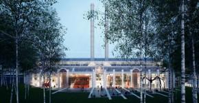 Неординарный проект электростанции от Ренцо Пьяно фото