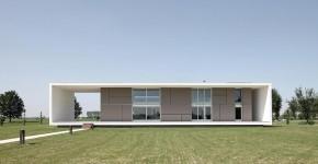 Креативный геометрический дом в Италии фото
