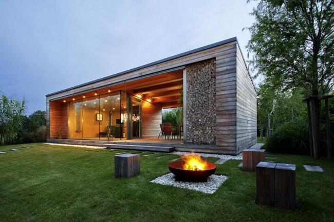 Что может быть лучше после бани, чем отдых на комфортной террасе?