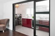 Фото 2 Стеклянные межкомнатные двери (80 фото): стильное решение интерьера