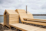 Фото 14 Проект бани из бруса с террасой: открывая новые возможности