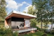 Фото 15 Проект бани из бруса с террасой: открывая новые возможности